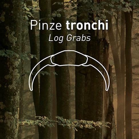 Pinze tronchi forestali